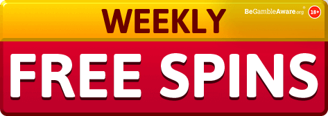 weekly free spins