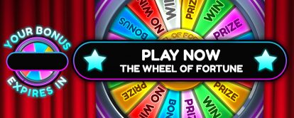 Wheel of Fortune at Mr Spin mobile casino