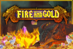 Fire and Gold mobile slots by Dr Slot Casino
