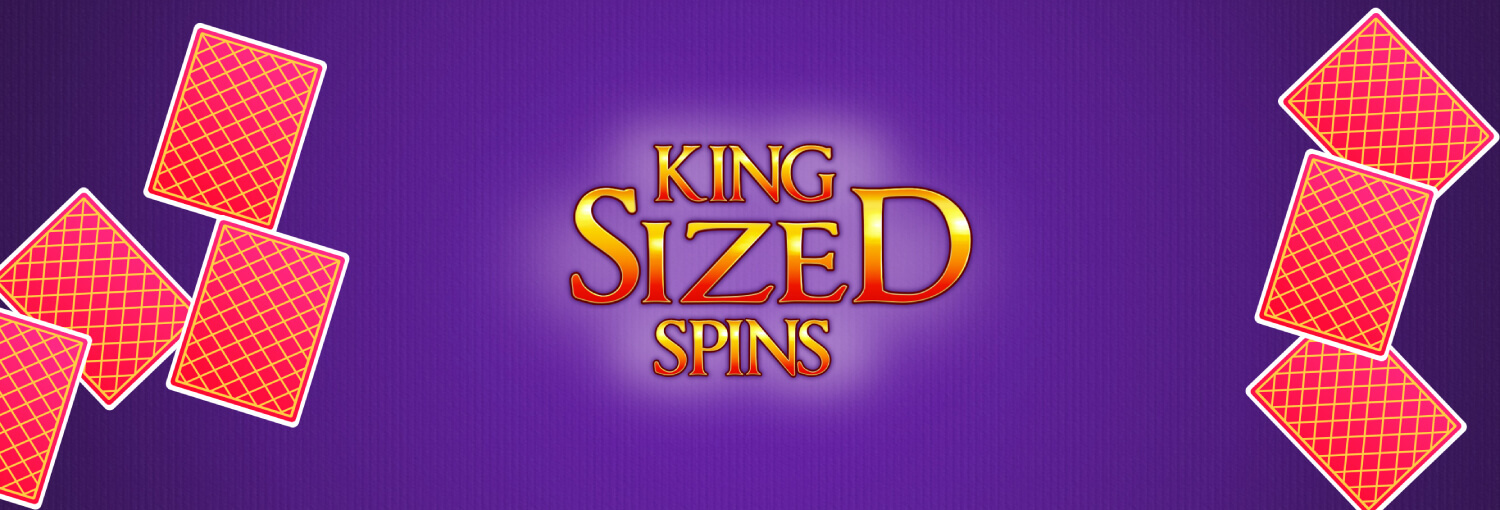NEW GAME: King Sized Spins takes the throne to your heart!
