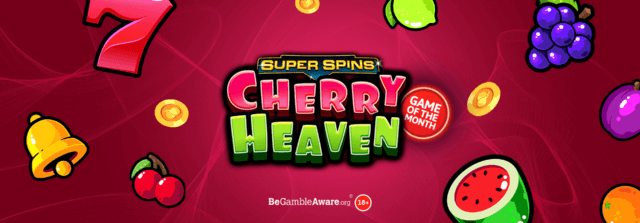 Get ready to be in Cherry Heaven with Dr Slot's newest online slots game launch!