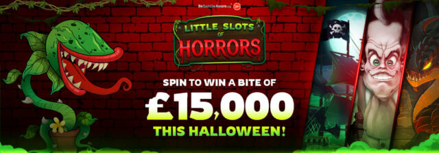 The winners of Dr Slot's Little Slots of Horrors are revealed!