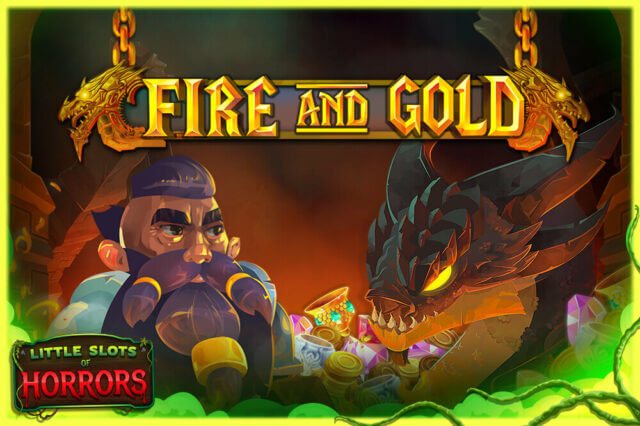 Fire And Gold online slots at Dr Slot online casino - Halloween version