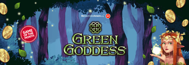 Prepare for a mystical adventure in the enchanted forest of Green Goddess online slots!