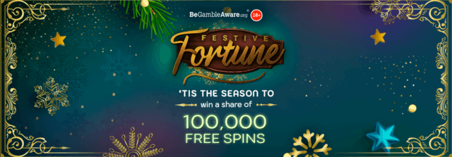 Who was able to pull a Christmas cracker and take home a Festive Fortune this winter on Dr Slot?