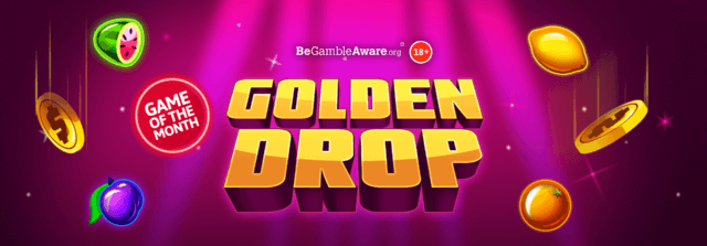 A golden slots game has just dropped onto Dr Slot's online casino!