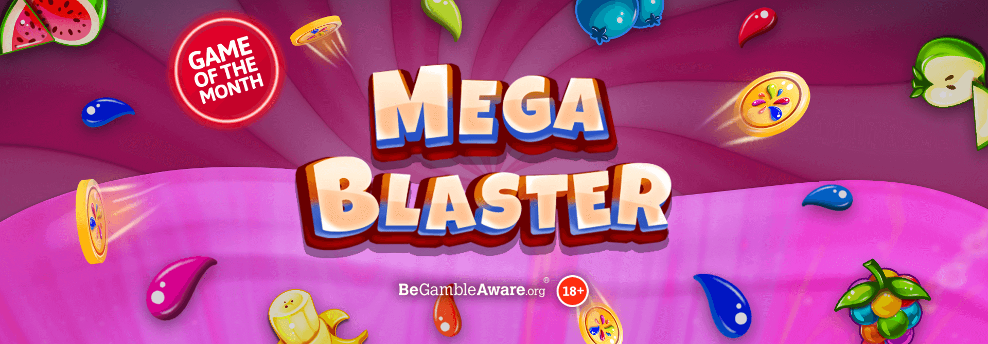 Are you ready to take a bite out of Mega Blaster online slots?