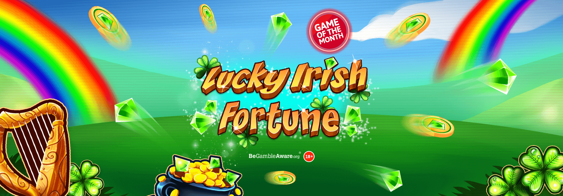 Prepare for an Irish adventure on the reels of Lucky Irish Fortune online slots!