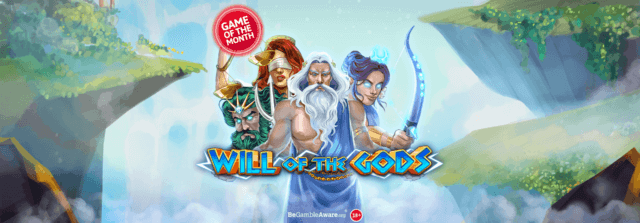Experience god-like big wins on Will of the Gods online slots