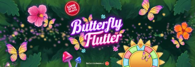 Set your heart aflutter on Butterfly Flutter online slots
